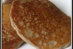 Buckwheat Pancakes: 1 cup soy milk 1 tblspn apple cider vinegar  1/2 cup buckwheat flour  4 tblspns all purpose flour  1 tablespoons sugar  1/2 teaspoon salt  1 tablespoon baking powder  2 tablespoons oil