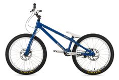 Inspired Fourplay Team Bike blue - Inspired Bicycles Streettrials - Street Trial #Maxxis #Hope #Truvativ