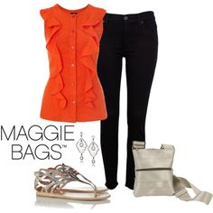 """Maggie Bags: Night on the Town"" by brilliance1321 on Polyvore"