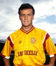 Davie Cooper of Motherwell in 1990.