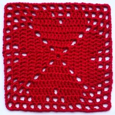 Transcendent Crochet a Solid Granny Square Ideas. Inconceivable Crochet a Solid Granny Square Ideas. Filet Crochet, Crochet Patterns Filet, Crochet Motifs, Crochet Stitches, Knit Crochet, Point Granny Au Crochet, Granny Square Crochet Pattern, Crochet Blocks, Crochet Squares