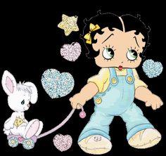baby+Betty+Boop | Baby Betty Boop Easter photo BettyBoopHeartsBunnyPastelGlitter.gif