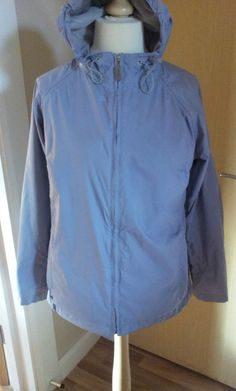 Regatta Isotex Jacket Coat  14 Ladies Women s Light Grey Blue