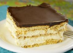 No-Bake Chocolate Eclair Dessert | foodgio   * * * * *other recipes