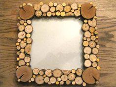 marco de fotos con rodajas de madera                                                                                                                                                     Más