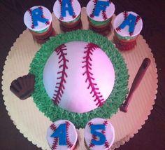 Béisbol cake