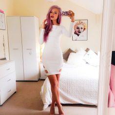 SEXY WHITE DRESS | SUMMER | FASHION | M E G H A N ♠ M A C K E N Z I E