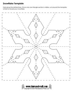 paper snowflake templates …