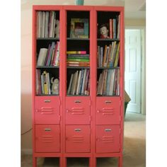 Revamped Locker Perfect...Would be really cute in a library or kids room