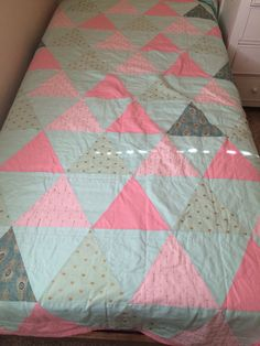 Other side of quilt I made for my granddaughter