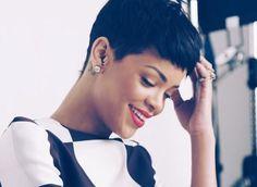 LOVE her short hair cut