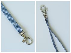 easy wrist strap tutorial - just shows you how to make the wrist strap, not the bag ~ from LBG Studio