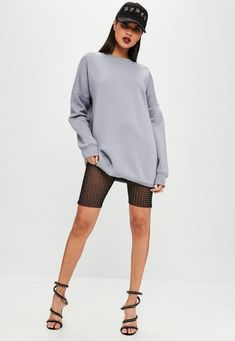Carli Bybel x Missguided Black Cycling Shorts | Missguided