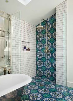 Victorian Dream Bathroom diy dream house Get This Look: 9 Beautiful Bathroom Design Trends We're Swooning Over Bad Inspiration, Bathroom Inspiration, Bathroom Inspo, Cool Bathroom Ideas, Bath Ideas, Cast Iron Bath, Victorian Terrace House, Modern Victorian Houses, Victorian Decor