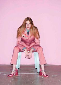 Niki Trefilova by Katja Rahlwes for Vogue Germany September 2015 2
