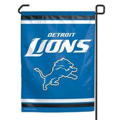 """Detroit Lions NFL 11""""x15"""" Garden Flag"""