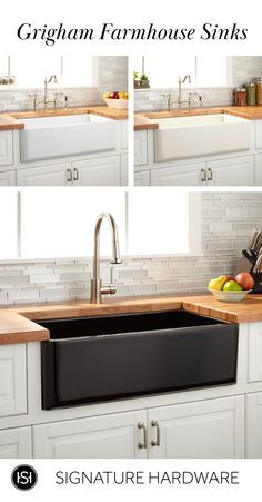 Bewitching Small kitchen design layouts uk tricks,Kitchen remodel las vegas tips and Kitchen remodel erie pa tips. Kitchen Redo, Home Decor Kitchen, Home Kitchens, Kitchen Dining, Ranch Kitchen, Narrow Kitchen, Kitchen Ideas, Kitchen Cabinets, Fireclay Farmhouse Sink