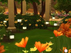 The Sims Resource: Kern Lamp Set by DOT • Sims 4 Downloads