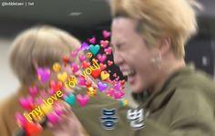 kpop, bts, and park jimin image Bts Meme Faces, Funny Faces, K Pop, Bts Love, Heart Meme, Cute Love Memes, Kpop Memes, Bts Reactions, Wholesome Memes