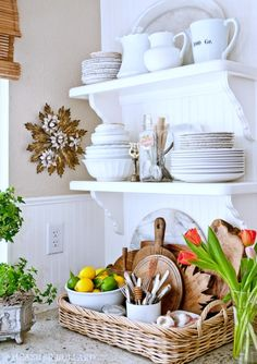 Maximize Your Kitchen Storage #HeatherBullard