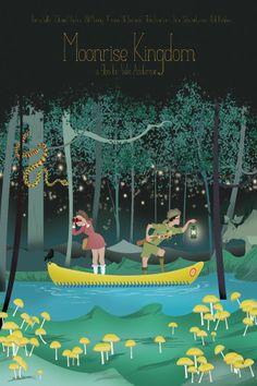 Moonrise Kingdom Movie Poster 12x18 in (30x45 cm)