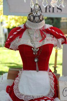 Rita's Christmas mannequin