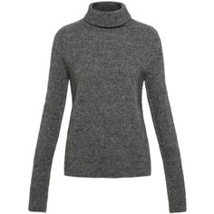 Marc by Marc Jacobs Super Yak Turtle Neck Sweater (3.275 NOK) ❤ liked on Polyvore featuring tops, sweaters, turtleneck tops, long sleeve sweaters, polo neck sweater, turtle neck tops and fuzzy sweater