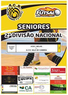 Futsal: ABC Nelas vs ACR Vale de Cambra > 12 Dezembro 2015, 17h @ Nelas _Seniores   2.ª Divisão Nacional_
