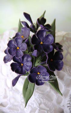 """Купить """"ФИОЛЕТОВЫЙ ФЛОКС"""" - тёмно-фиолетовый, флористика, флоксы, садовые цветы, цветы"""