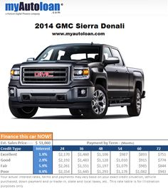 All looks and all for the highway. If you don't mind owning a city truck then finance the Sierra now at www.myautoloan.com