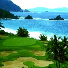 While the tents ultimately became 29 secluded villas... #golf #courses