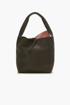 f7090f638c6 Leather Bag with additional Pouch Tassen, Accessoires, Sachets, Grote Tassen