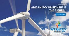 Wind power has a definite place in the future as it is the most inexpensive form of harvesting electrical power.  #Windergy2017 #Wind4All #RenewableEnergy #Here2Stay #WindPowerForever #HarvestAir