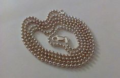 Vintage 30 Sterling Silver Made in Italy Chain by TrendyTreasures1, $59.00