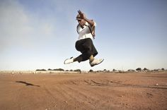The Scene, Seen: South Africa's Chris Saunders | Real Actions pantsula dancer
