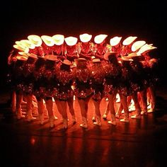 Sophomores in Spring Show Last Dance....I see my favorite girls in this picture!! That's my daughter front and center!