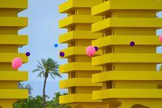 Alexandre Arrechea's Katrina Chairs at Coachella Festival 2016