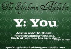 slytherin alphabet | Tumblr