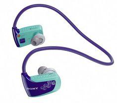 Dank des diskreten und komfortablen Players NWZ-W263 können Sie Musikhören, während Sie joggen gehen oder Ihre Gymnastik machen.