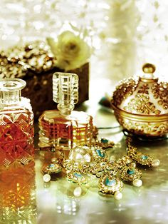 Lovely perfume bottles