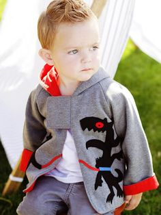 Monster Jacket boys - sewing pattern for children