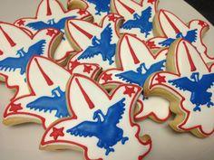 Eagle Scout Decorated Sugar Cookies (1 Dozen)