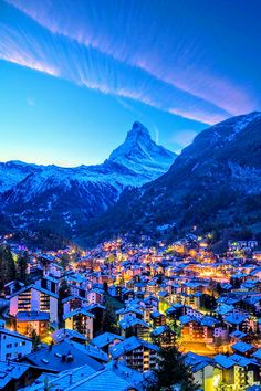 Mt. Matterhorn Zermatt Switzerland