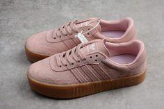 c185488f9200 Womens adidas Sambarose Pink Gum For Sale-3