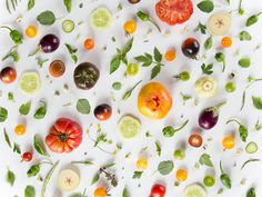 How To Eat Healthy, Even When You're Busy: Simple Nutrition Tips Healthy Soup Recipes, Bean Recipes, Kitsch, Julie's Kitchen, Kitchen Decor, Julie Lee, Japanese Cucumber, Food Collage, Images Of Summer