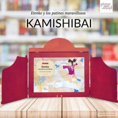 Etenko y los patines maravillosos - KAMISHIBAI (láminas A3) Magazine Rack, Projects To Try, Frame, Diy, Decor, Texts, To Tell, Tinkerbell, Classic Literature