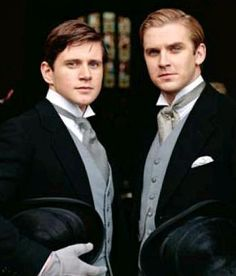 "Downton Abbey - ""'I've told you before, if we're mad enough to take on the Crawley girls, we have to stick together.'"" (Matthew Crawley to Tom Branson) LOVE, LOVE,LOVE this show!"