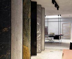 Van Den Weghe showroom in Knokke Belgium by Glenn Sestig Architects, Odilon Creations and Obumex - Photography by Annick Vernimmen