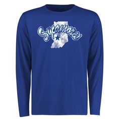 Indiana State Sycamores Big & Tall Classic Primary Long Sleeve T-Shirt - Royal