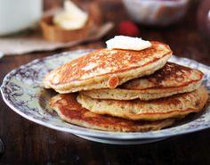 Maple Almond Pancakes, gf, gluten free, gluten free pancakes, gluten free breakfast, gluten free recipe